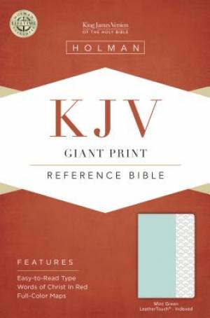 Giant Print Reference Bible - KJV