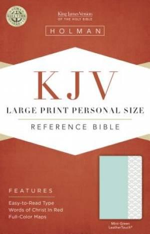 Large Print Personal Size Reference Bible - KJV