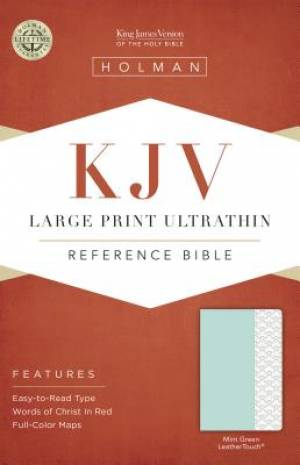 Large Print Ultrathin Reference Bible - KJV