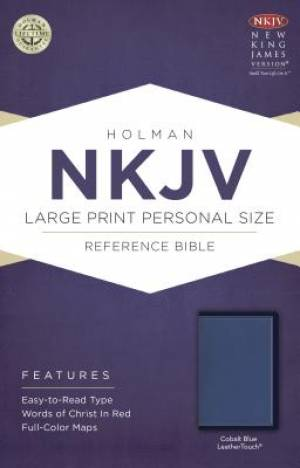 Large Print Personal Size Reference Bible - NKJV