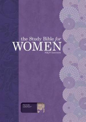 The Study Bible for Women, NKJV Personal Size Edition Plum/Lilac LeatherTouch