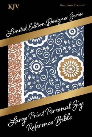 KJV Large Print Personal Size Reference Bible, Designer Seri
