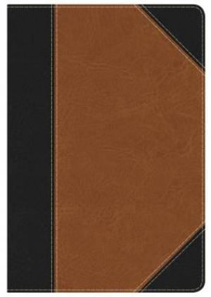 HCSB Study Bible: Personal Size Edition, Black/Tan Leatherto