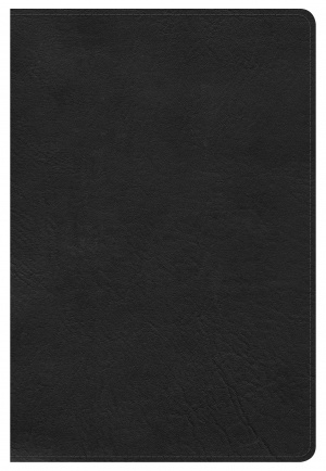 Kjv Large Print Personal Size Reference Bible, Black Leather