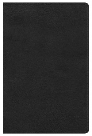 Kjv Ultrathin Reference Bible, Black Leathertouch Indexed