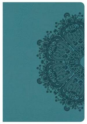 Nkjv Compact Ultrathin Bible, Teal Leathertouch