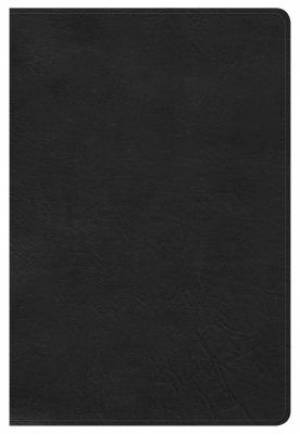 Hcsb Large Print Personal Size Bible, Black Leathertouch, In