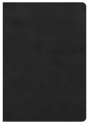 Kjv Super Giant Print Reference Bible, Black Leathertouch, I