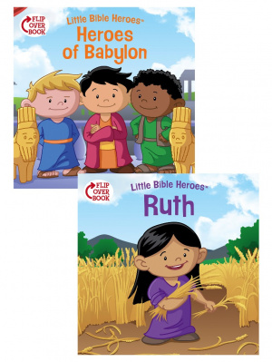 Heroes Of Babylon/Ruth Flip-Over Book