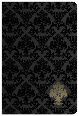 KJV Large Print Personal Size Reference Black Velvet