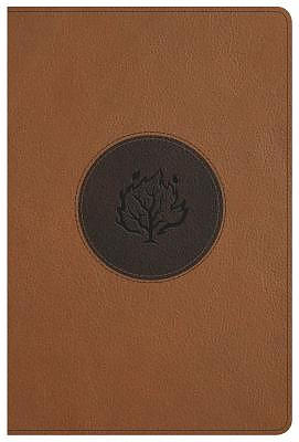 KJV I Am Bible, Brown Leathertouch, Indexed