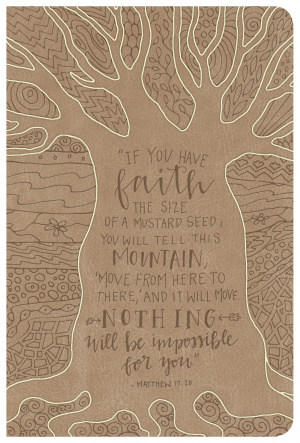 NKJV Large Print Personal Size Ref Bible, Natural Faith