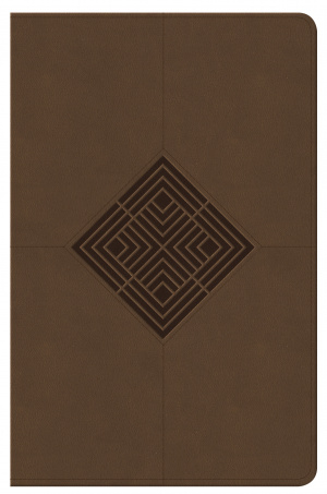 NKJV Reader's Reference Bible Brown Leathertouch Indexed