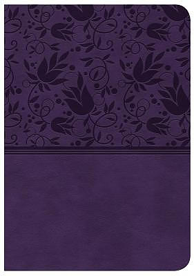 NKJV Compact Reference Bible, Large Print, Purple