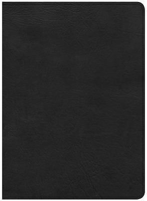 CSB Study Bible, Black Deluxe Leathertouch