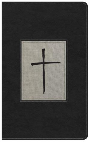 NKJV Ultrathin Reference Bible, Black/Gray Deluxe Leatherto