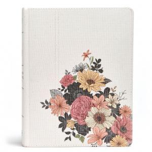 NKJV Illustrator's Notetaking Bible, The, Floral Canvas