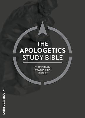 CSB Apologetics Study Bible, Hardcover, Indexed