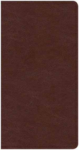 CSB Share Jesus Without Fear New Testament, Brown Leathertou