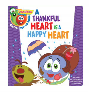 Veggietales: A Thankful Heart Is A Happy Heart, A Digital Po