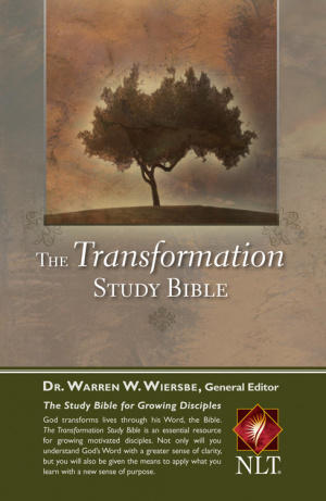 NLT Transformation Study Bible: Hardback
