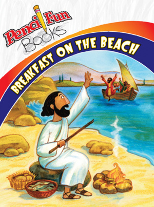 Breakfast On The Beach Pencil Fun Books