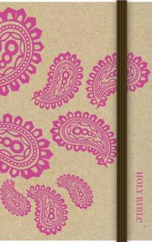 NIV Craft Paper Bible, Pink, Hardback
