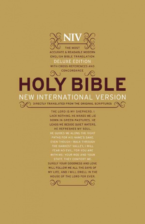 NIV Bold Print Hardback Bible