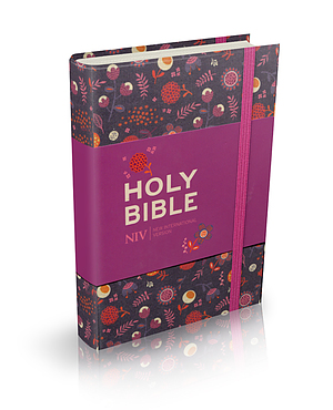 NIV Floral Pocket Notebook Bible