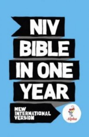 NIV Alpha Bible In One Year Hardback 10 copy pack