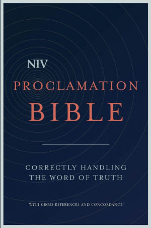 NIV Proclamation Bible