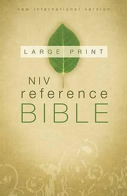 NIV Reference Bible Large Print Hardback