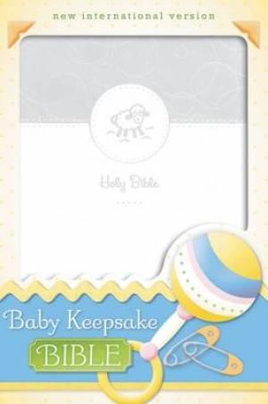 NIV Baby Keepsake Bible White Duo Tone