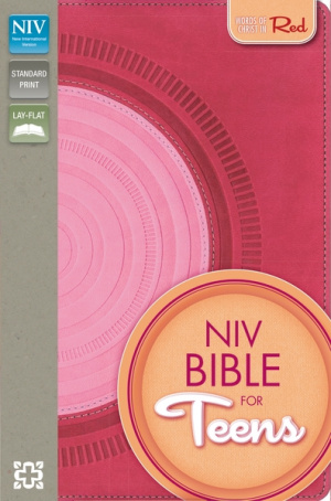 NIV Bible for Teens Hot Pink/Pink Duo Tone