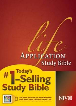 NIV Life Application Study Bible: Hardback, Thumb Indexed