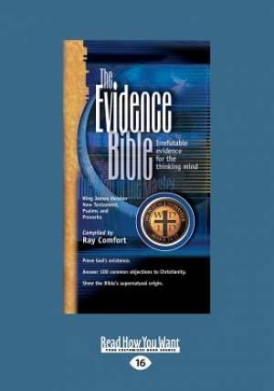 Evidence Bible NT (Large Print 16pt)