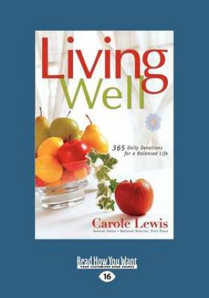 Living Well (1 Volume Set)
