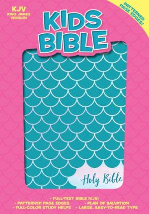 KJV Kids Bible, Aqua