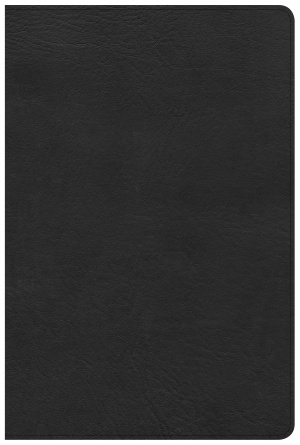 CSB Pastor's Bible, Black Deluxe LeatherTouch