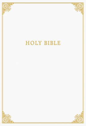 CSB Family Bible, White LeatherTouch Over Board