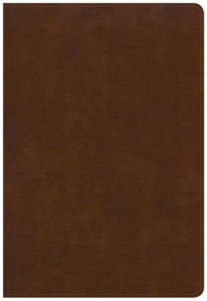 KJV Large Print Ultrathin Reference Bible, Brittish Tan Leat