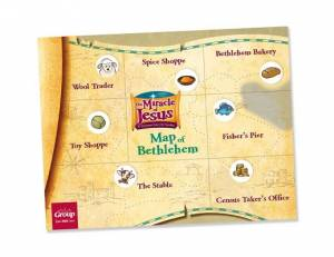 Miracle of Jesus Map of Bethlehem & Sniffer Stickers Set -50