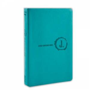 NLT Jesus-Centered Bible Turquoise