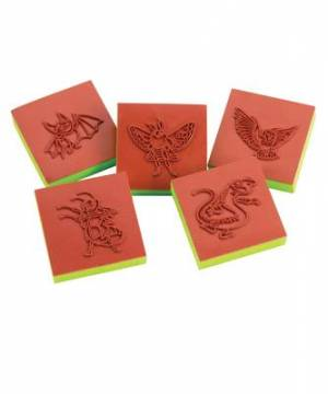 Cave Quest Bible Memory Buddy Stampers (set of 5)