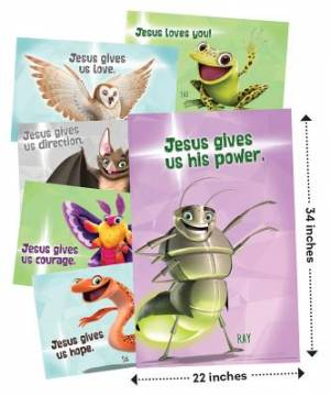 Bible Point Posters Set of 6
