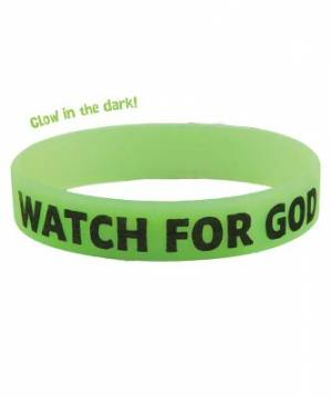 Watch For God Wristbands Pkt of 10