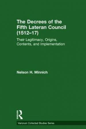 The Decrees of the Fifth Lateran Council (1512-17)