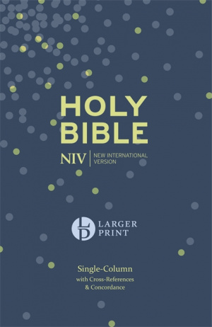 NIV Compact Single Column Reference Bible