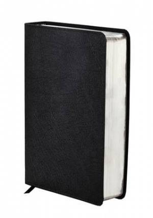 NIV Zondervan Study Bible: Black, Bonded Leather