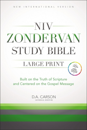 NIV Zondervan Study Bible: Hardback, Large Print